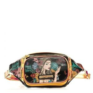 Boho Metallic Fanny Pack